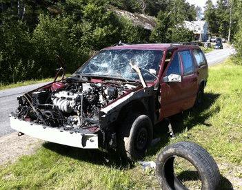 Bilskrot som betalar i Uddevalla